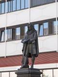 Leibniz Denkmal Leipzig Stock Images