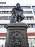Leibniz Denkmal Lipsia Immagini Stock Libere da Diritti