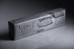 Leibniz-Keks πακέτα, γερμανικό εμπορικό σήμα Στοκ φωτογραφία με δικαίωμα ελεύθερης χρήσης