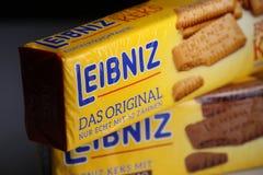 Leibniz-Keks paczki, Niemiecki gatunek Zdjęcia Royalty Free