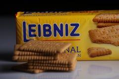 Leibniz-Keks pakuje, Niemiecki gatunek, kakaowi ciastka Zdjęcie Royalty Free