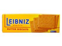 Leibniz masła ciastka Obraz Stock