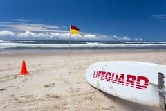 Leibwächter Board Gold Coast Australien stockbilder