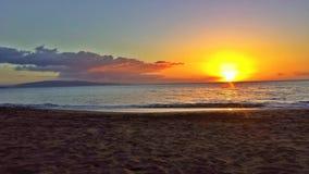 Leibwächter-Kontrollturm am Sonnenuntergang Lizenzfreies Stockfoto
