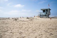 Leibwächter-Station in Venedig-Strand Kalifornien Lizenzfreies Stockbild