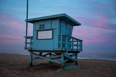 Leibwächter Watch auf dem Strand Stockbilder