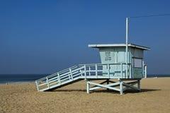 Leibwächterbeobachtungskontrollturmstation Santa Monica Stockbild