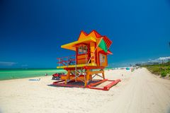 Leibw?chter Tower Miami Beach S?dstrand florida USA stockfotos