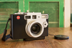 Leica Digilux 1 camera was developed by Leica and Panasonic Royalty Free Stock Image