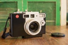 Leica Digilux 1 kamera framkallades av Leica och Panasonic Royaltyfri Bild