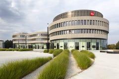 Leica fabrik och museum i Wetzlar, Tyskland Arkivfoto