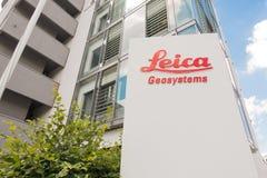 Leica Geosystems Fotografia Stock