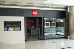 Leica store Stock Image