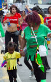 Leicester Caraïbisch Carnaval, het UK 2010 Stock Afbeelding
