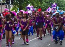 Leicester Caraïbisch Carnaval, het UK 2010 Royalty-vrije Stock Foto's
