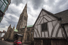 Leicester Cathedral Royalty Free Stock Images