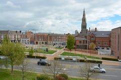 Leicester centrum miasta Zdjęcia Royalty Free