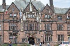 Leicester Historyczna architektura zdjęcie stock