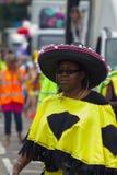 Leicester-karibischer Karneval, Großbritannien 2010 Stockfotografie