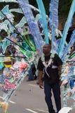 Leicester-karibischer Karneval, Großbritannien 2010 Lizenzfreies Stockfoto