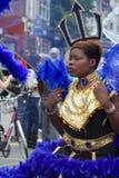Leicester-karibischer Karneval, Großbritannien 2010 Lizenzfreies Stockbild