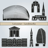 Leicester landmarks and monuments Stock Photo