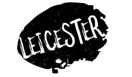 Leicester rubber stamp Royalty Free Stock Photos