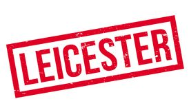 Leicester rubber stamp Stock Images