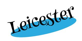 Leicester rubber stamp Stock Photography