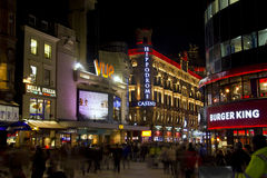 Leicester Square in London, UK Royalty Free Stock Images