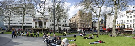 Leicester Square at spring Royalty Free Stock Images
