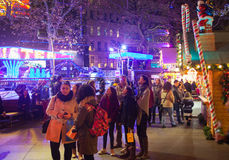 Leicester square traditional fun fair, London Stock Photography