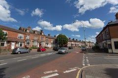 Leicester stad royaltyfria bilder