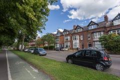Leicester-Stadt Stockfoto