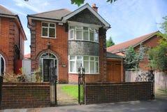Leicester, vecchia casa Immagini Stock