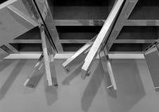 Leichenschauhaus-Kühlschrank-flache Wand vektor abbildung