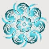 Leicht blaue Blume Stockfoto