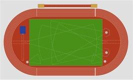 Leichtathletik vektor abbildung