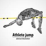 Leichtathletik, Hochsprung, Wettbewerb Stockfotos