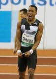 Leichtathletik, Kubas Orlando Ortega Stockbilder