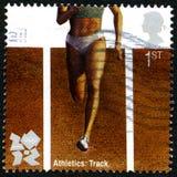 Leichtathletik London 2012 Olympische Spiele Lizenzfreies Stockfoto