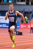 Leichtathletik - Mann 60m Heptathlon, MAYER Kevin Stockfotografie