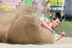 Leichtathletik-Meisterschaft 2015 Lizenzfreie Stockbilder