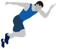 Leichtathletik-Sport Stockfotografie