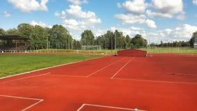 Leichtathletik-Sportfeld Lizenzfreie Stockfotografie