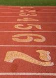 Leichtathletik Startline Lizenzfreies Stockfoto