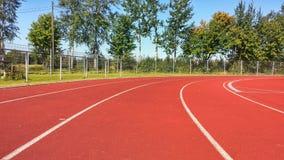 Leichtathletikbetrieb Stockfotos