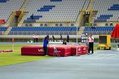 Leichtathletikkonkurrenz Stockfotos