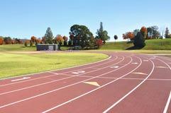 Leichtathletikkurs Lizenzfreies Stockfoto