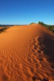Leichte Sandwellen Stockfoto